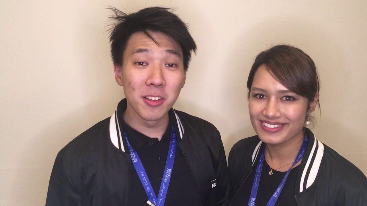 Nicholas Sucess resources Malasia Manager & Reena Japan | testimonial | Ricardo Mendoza